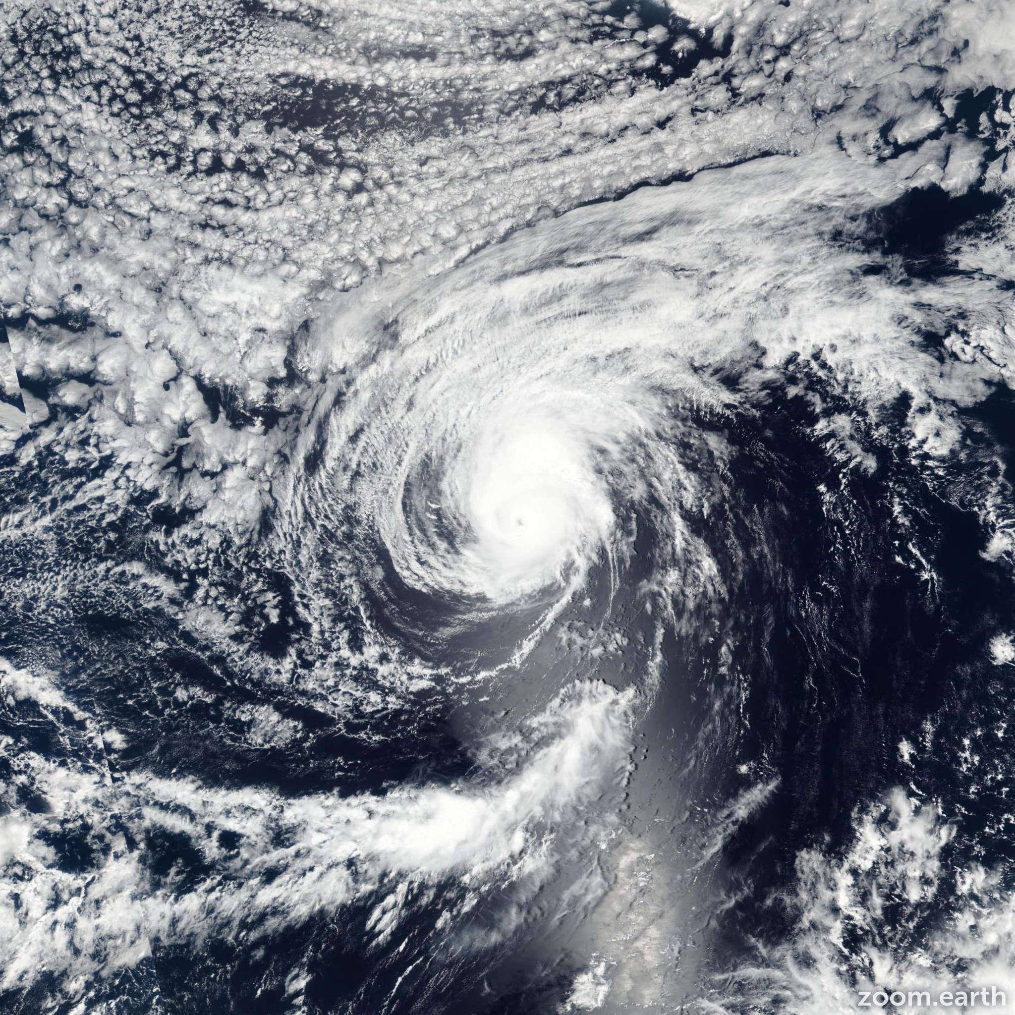Satellite image of Hurricane Kenneth 2017