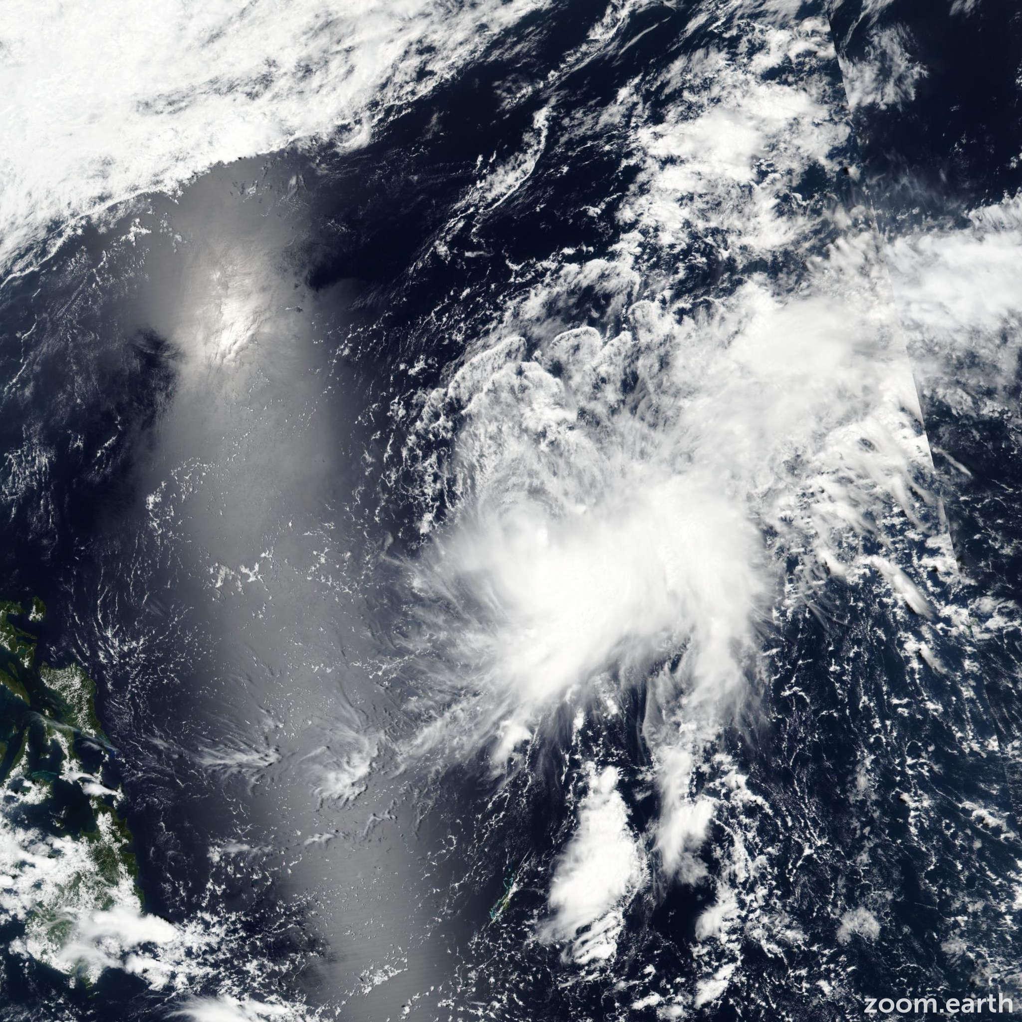Satellite image of Storm Muifa (Dante) 2017