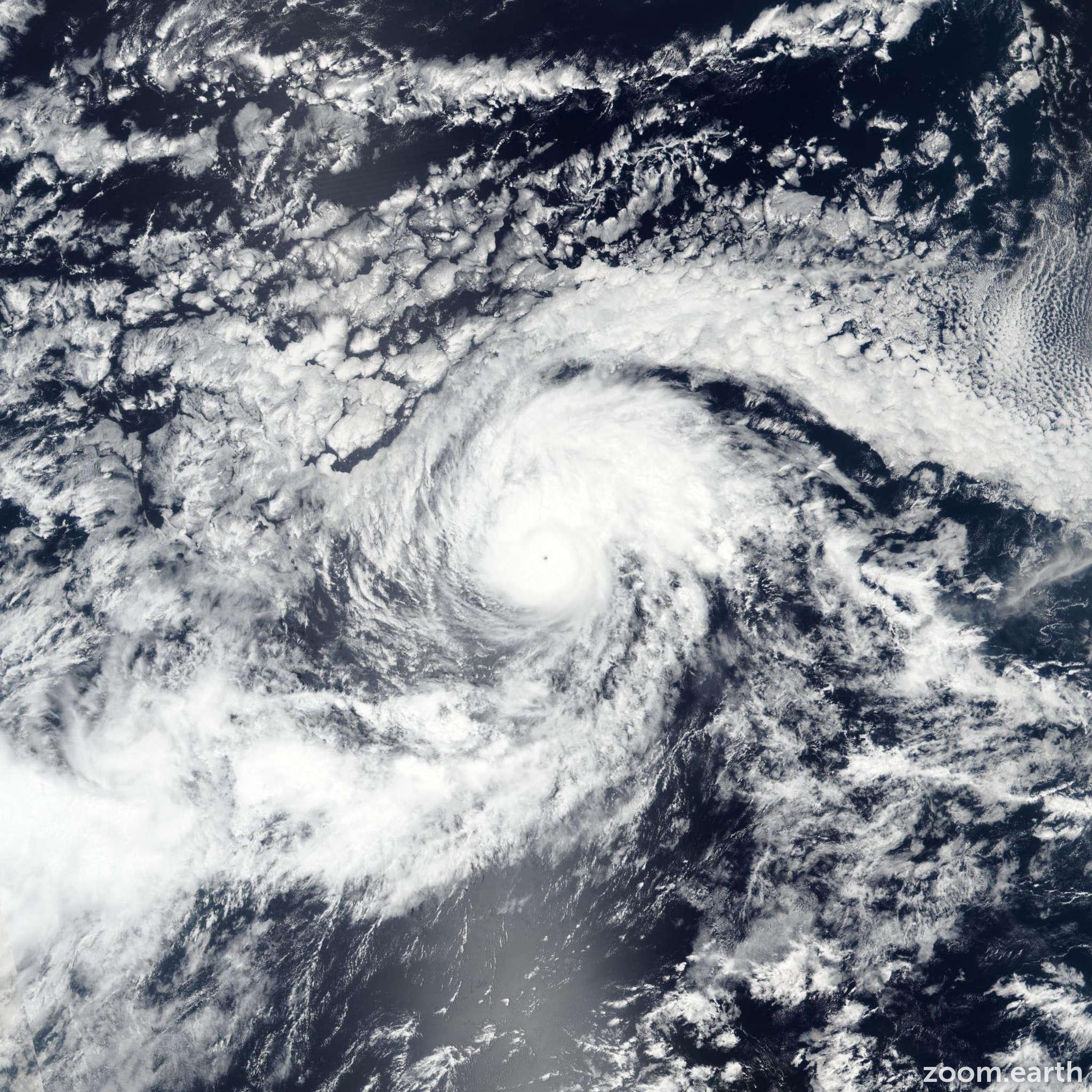 Satellite image of Hurricane Otis 2017