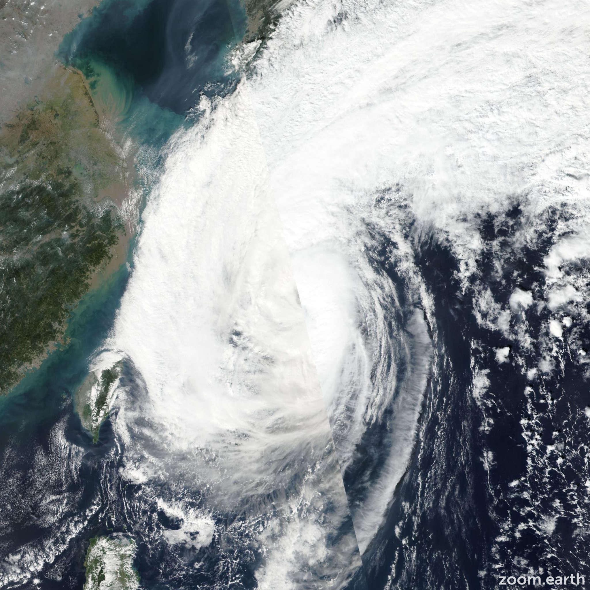 Satellite image of Storm Saola (Quedan) 2017