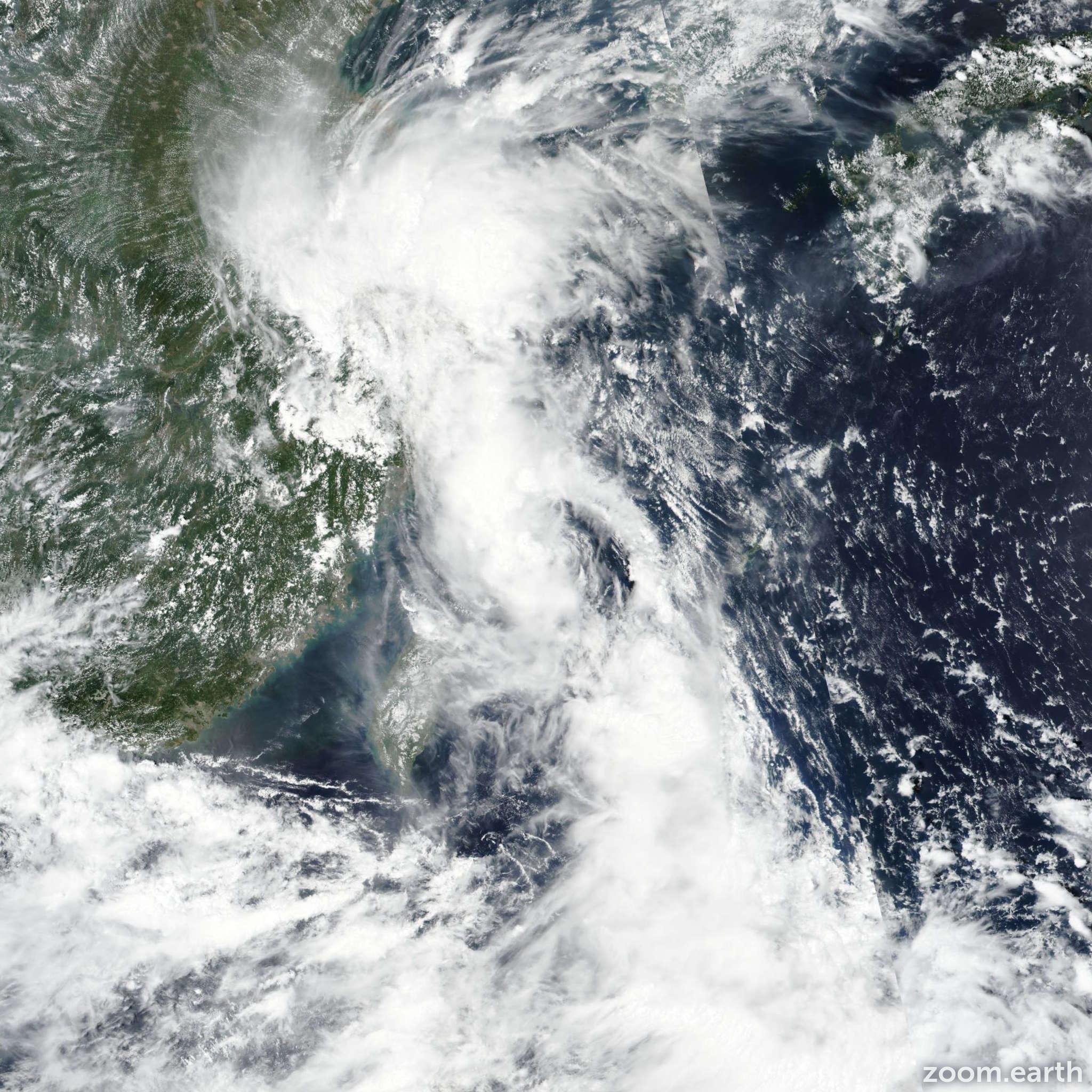 Satellite image of Storm Yagi (Karding) 2018