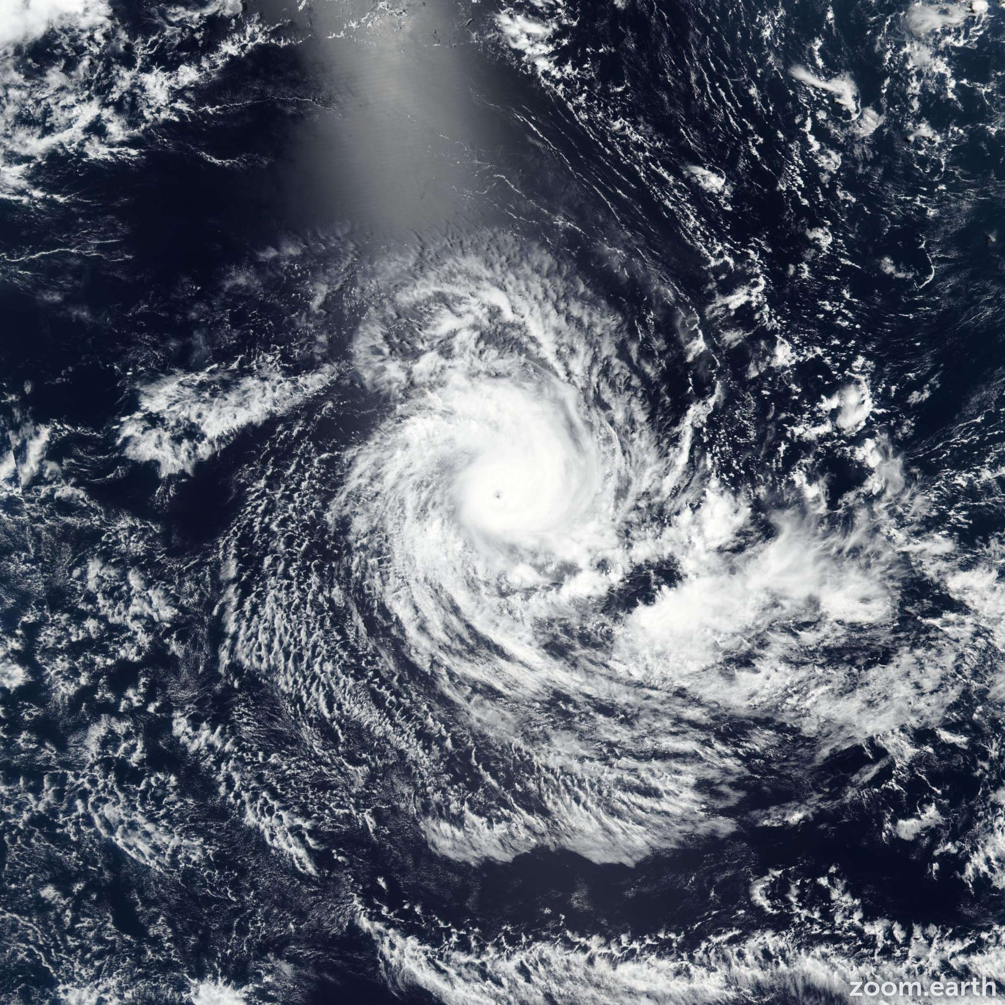 Satellite image of Cyclone Savannah 2019