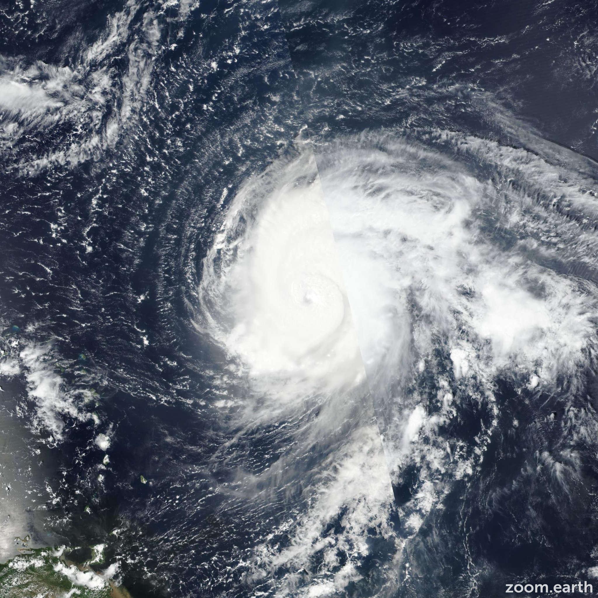 Major Hurricane Teddy 2020 Zoom Earth