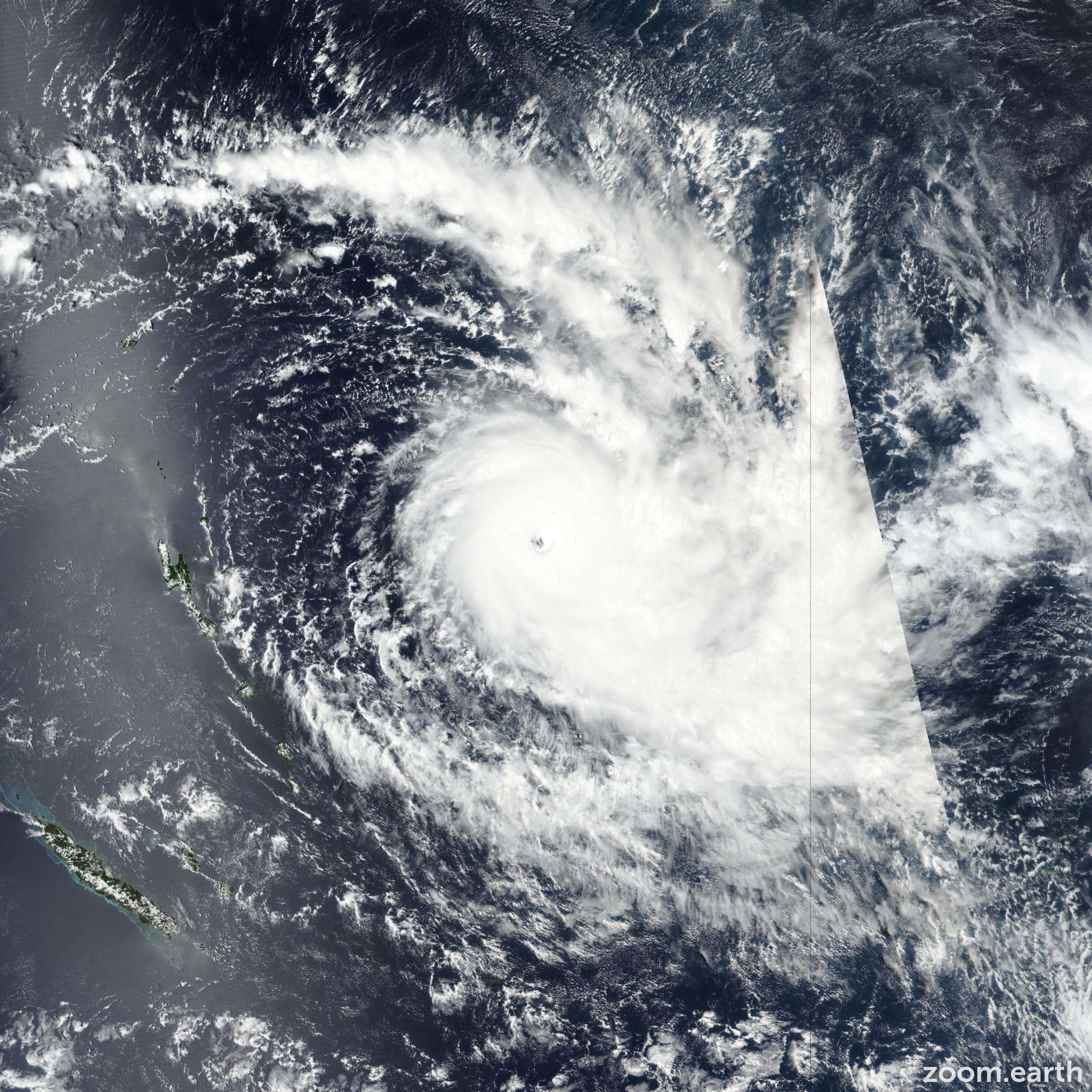 Tropical Cyclone Yasa 2020 2021 Zoom Earth