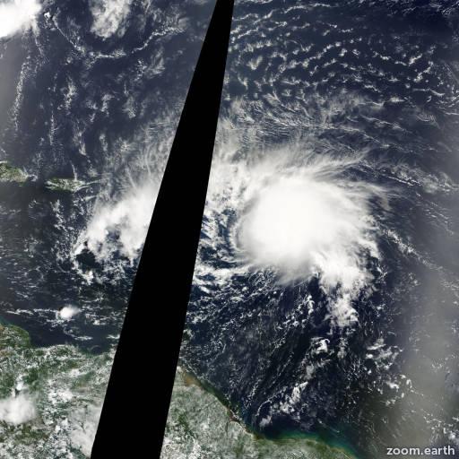 Hurricane Debby 2000