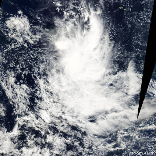 Satellite image of Cyclone Neil 2000