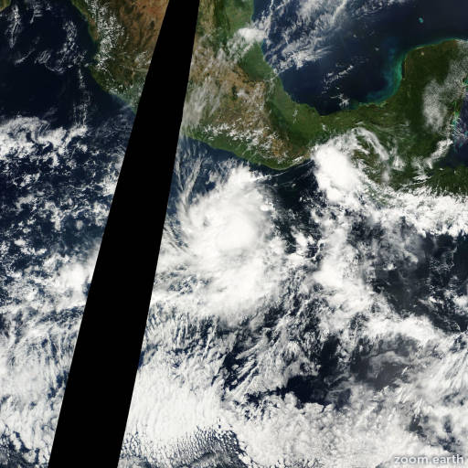 Satellite image of Storm Rosa 2000