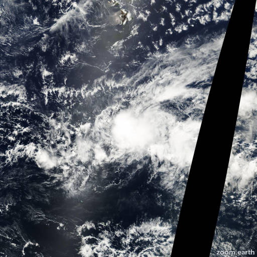Satellite image of Storm Upana 2000