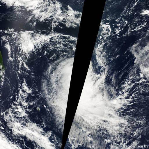 Cyclone Evariste 2001