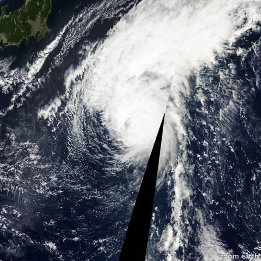Typhoon Francisco 2001