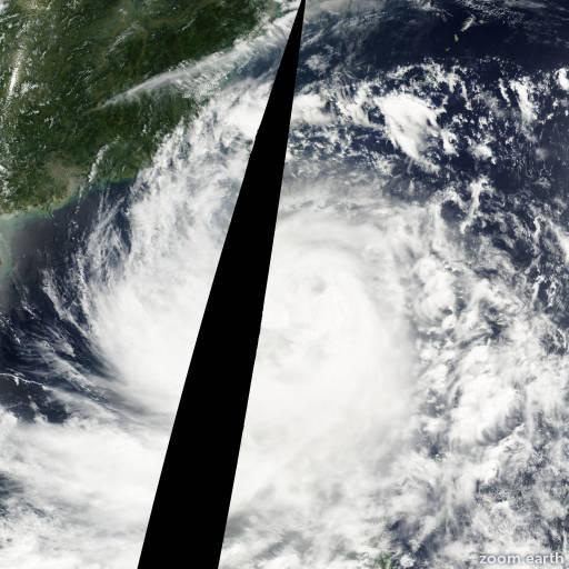 Typhoon Utor 2001