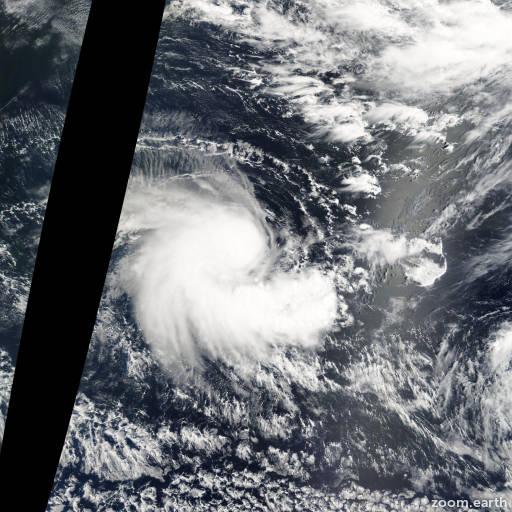 Satellite image of Storm Abaimba 2003