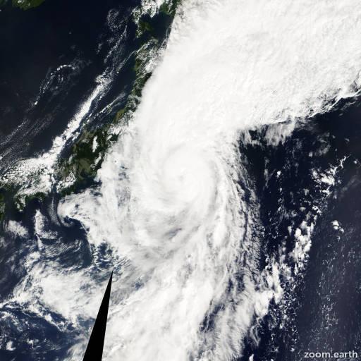 Satellite image of Typhoon Choi-Wan 2003