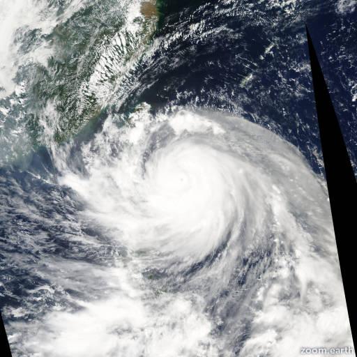 Typhoon Dujuan 2003