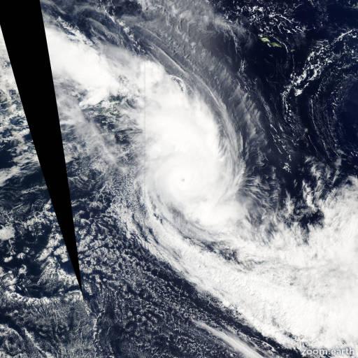 Cyclone Eseta 2003