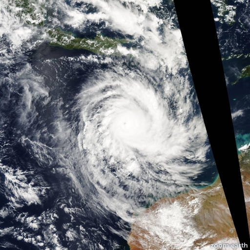 Cyclone Inigo 2003