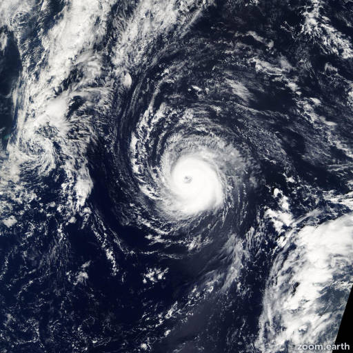 Satellite image of Hurricane Kate 2003