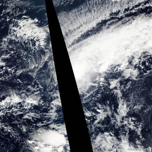 Satellite image of Storm Yanyan 2003