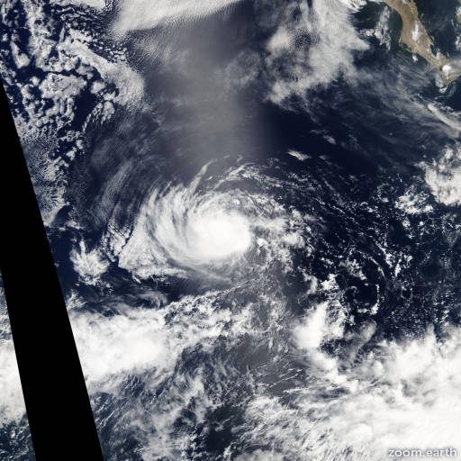 Hurricane Celia 2004