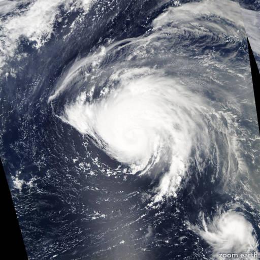 Satellite image of Hurricane Karl 2004