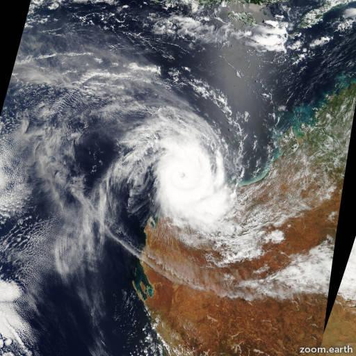 Cyclone Monty 2004