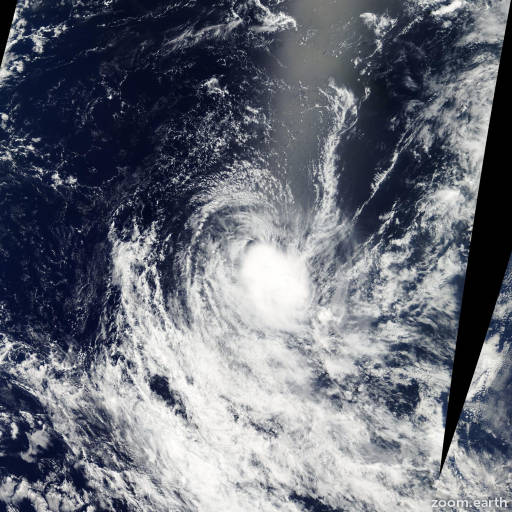 Satellite image of Storm Nicky-Helma 2004