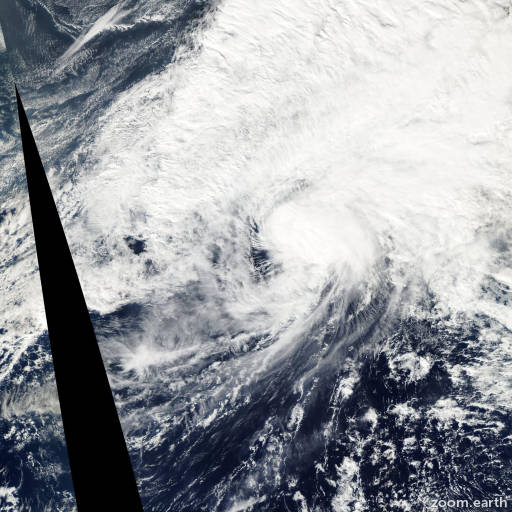 Satellite image of Storm Noru 2004