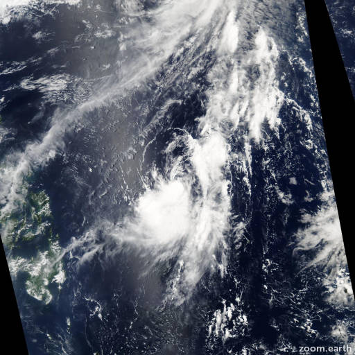Satellite image of Storm Omais 2004