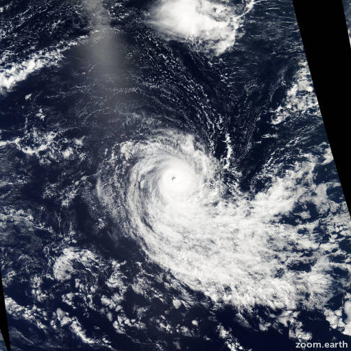Satellite image of Cyclone Oscar-Itseng 2004