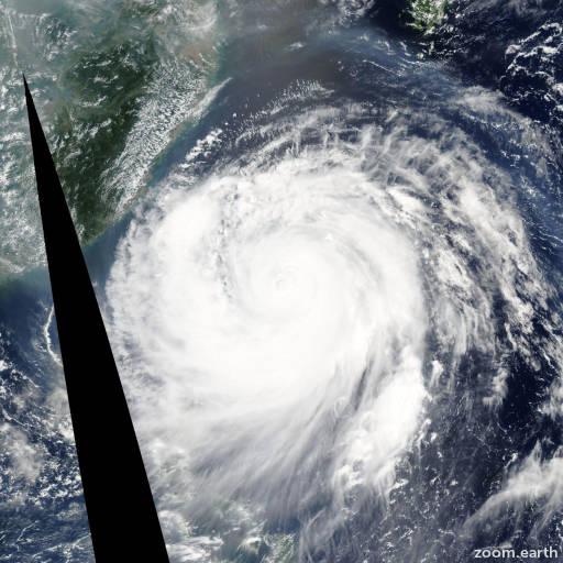Typhoon Haitang 2005