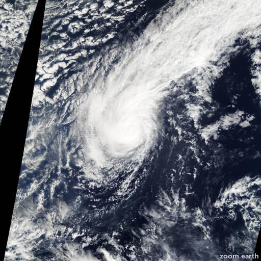 Satellite image of Storm Kulap 2005
