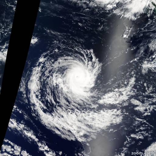 Cyclone Bertie-Alvin