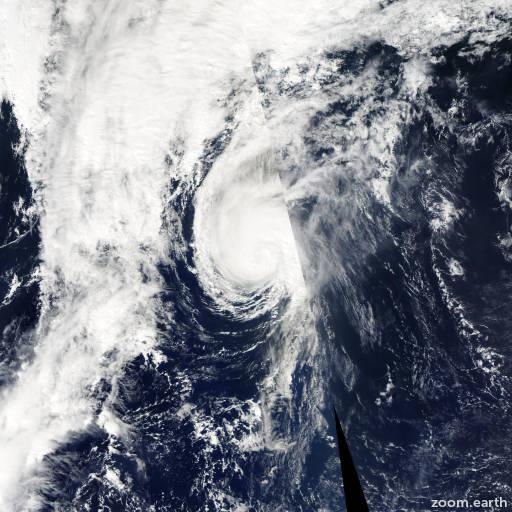 Satellite image of Hurricane Isaac 2006