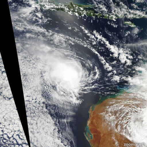 Cyclone Jacob 2007