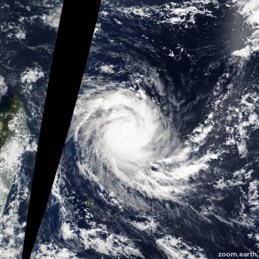 Cyclone Jaya 2007