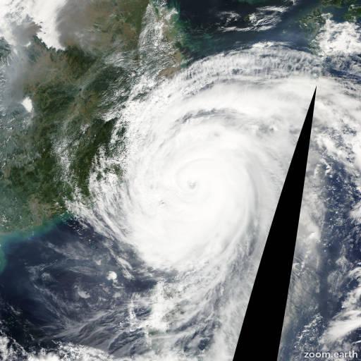 Typhoon Krosa 2007
