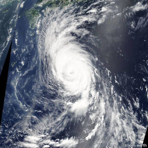 Typhoon Usagi 2007