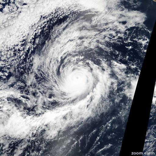 Hurricane Hernan 2008