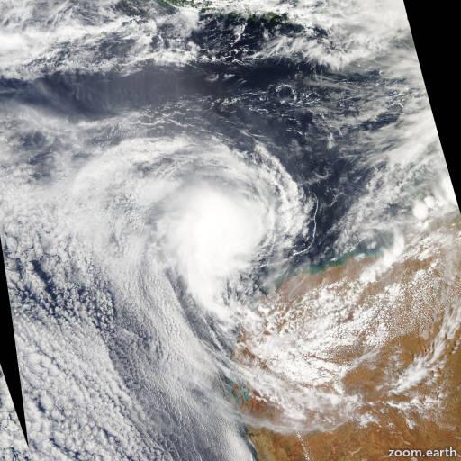 Cyclone Melanie