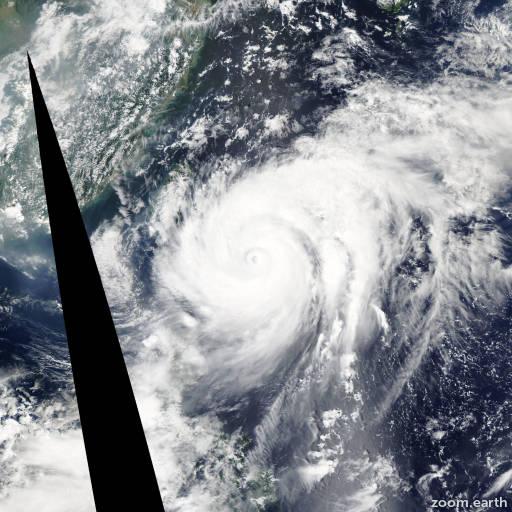 Typhoon Sinlaku 2008