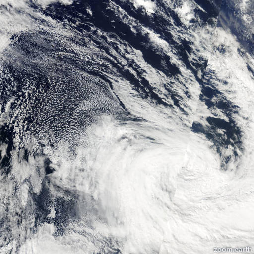 Satellite image of Cyclone Ken 2009