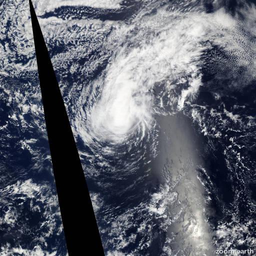 Satellite image of Hurricane Linda 2009