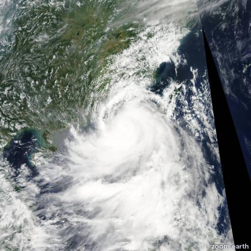 Satellite image of Storm Molave 2009