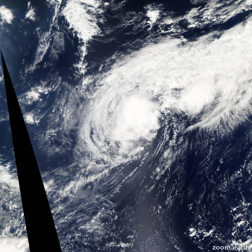 Satellite image of Storm Nepartak 2009