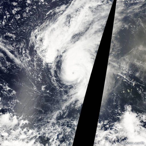 Satellite image of Hurricane Julia 2010