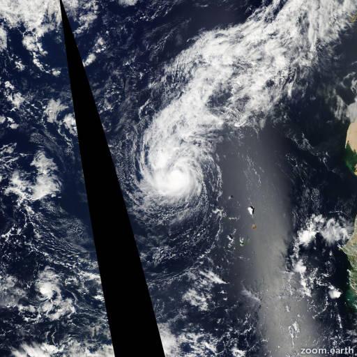 Hurricane Lisa 2010