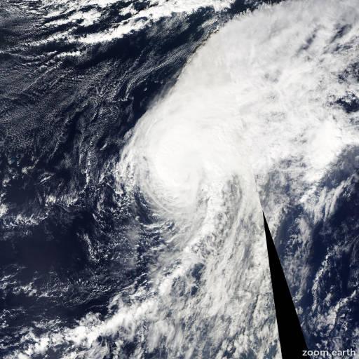 Satellite image of Hurricane Otto 2010