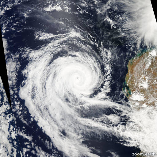 Cyclone Dianne 2011