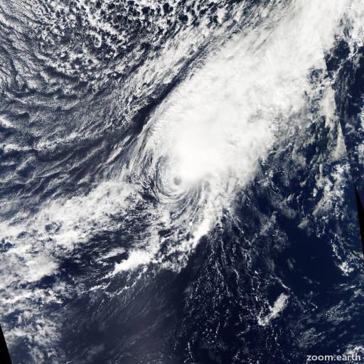 Satellite image of Hurricane Philippe 2011