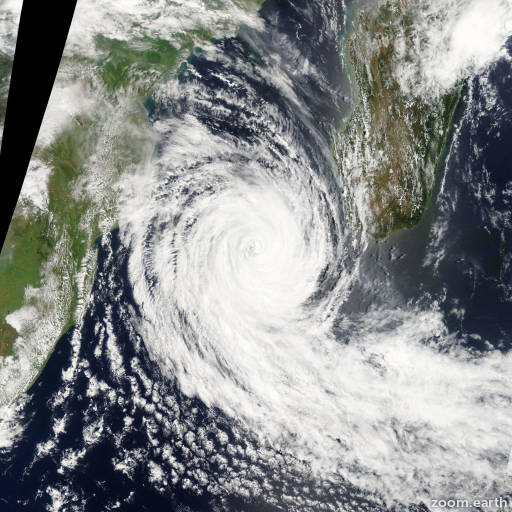 Cyclone Funso 2012